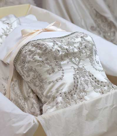 Ann matthews bridal wedding services albuquerque for Where to get wedding dress cleaned and preserved